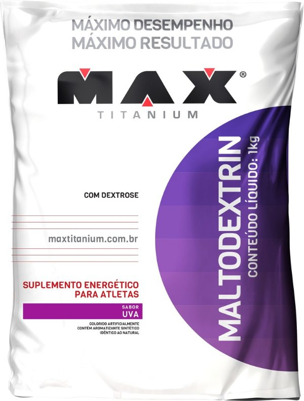 MALTODEXTRIN MAX TITANIUM 1KG UVA