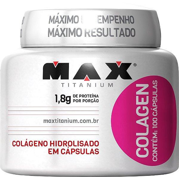 COLAGEN 500 MAX TITANIUM 100 CAPS