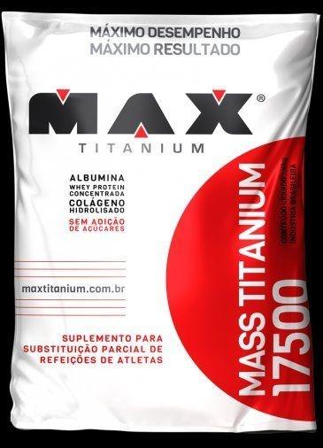 MASS TITANIUM 17500 3KG (REFIL) - MAX TITANIUM - CHOCOLATE