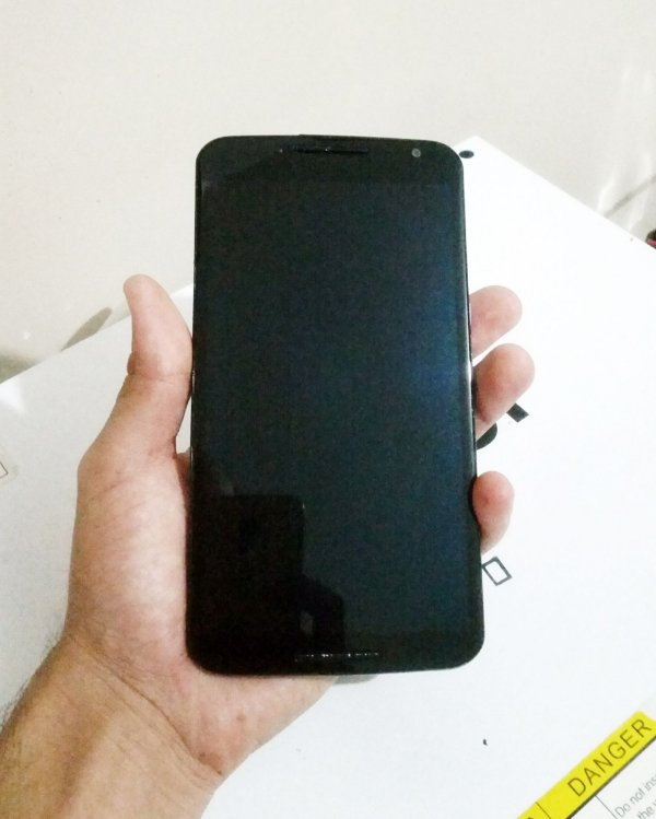 Troca de Vidro Motorola Nexus 6 XT1100 XT1103
