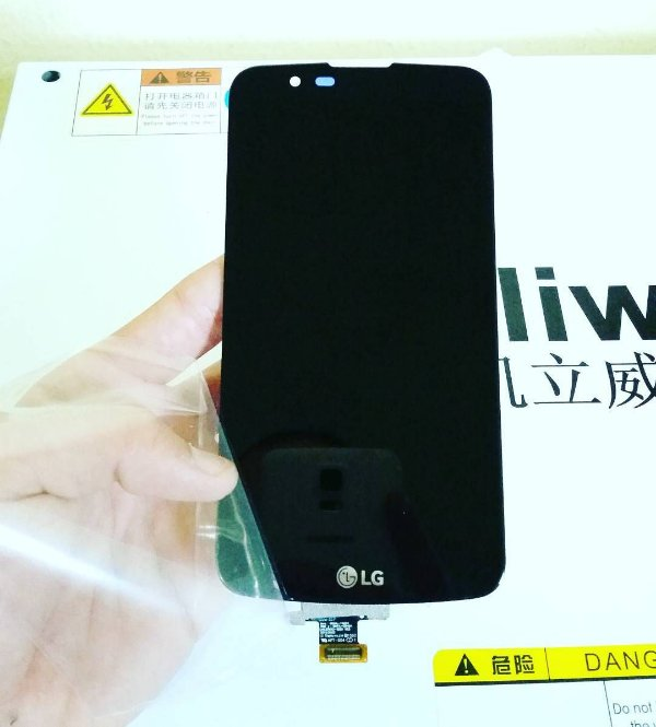 Troca de Vidro LG K8 2017 X240 XT240DS
