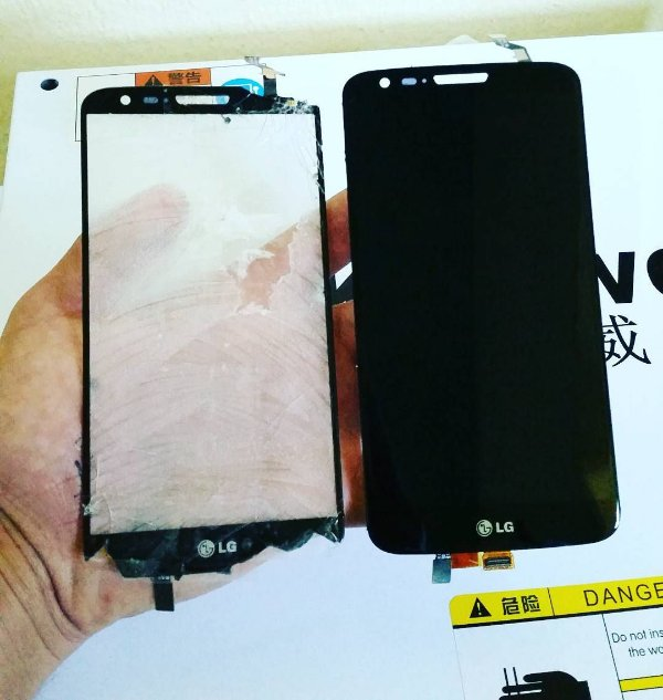 Troca de Vidro LG Optimus G E977