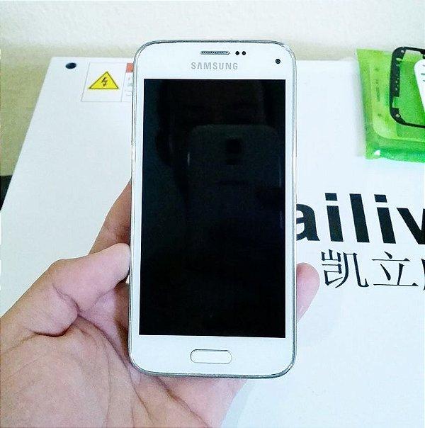 Troca de Vidro Samsung Galaxy S4 Mini I9192 I9195 I9190