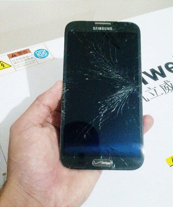 Troca de Vidro Samsung Galaxy Note 2 N7100 N7105