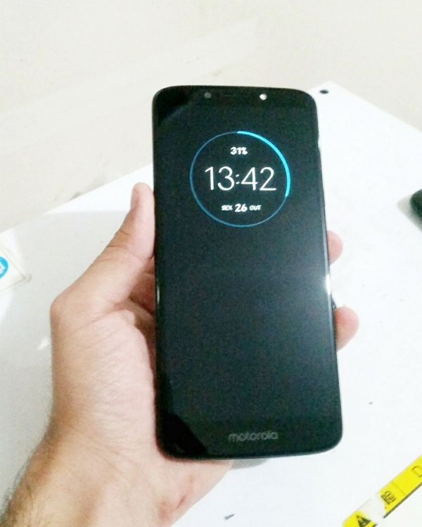 Troca de Vidro Motorola Moto G6 Play XT1922 XT1922-5