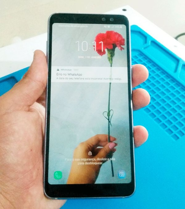Troca de Vidro Samsung A8 Plus A8+ A730F A730 (2018)