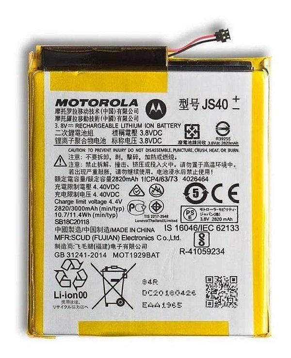 Bateria Moto Z3 Play XT1929 JS40 Original ( Serviço com instalação)