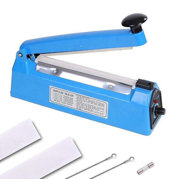 Seladora Manual 20 cm com Temporizador - Estrutura De Plástico - PCS200P