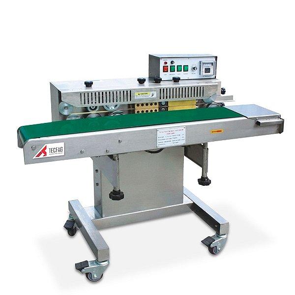 Seladora Contínua Automática Industrial Inox 304 C/ Datador - FRW200B/S