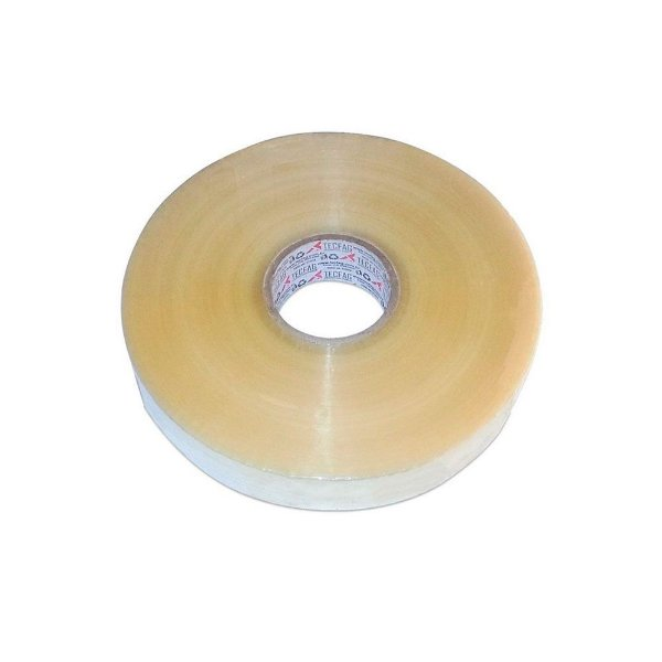 Fita Adesiva Hotmelt 48 x 1200 - Transparente para Seladora de Caixa