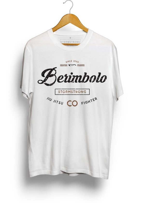 Camiseta StormStrong Jiu-Jitsu Berimbolo 2 Branca