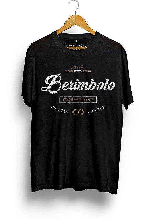 Camiseta StormStrong Jiu-Jitsu Berimbolo 2 Preta