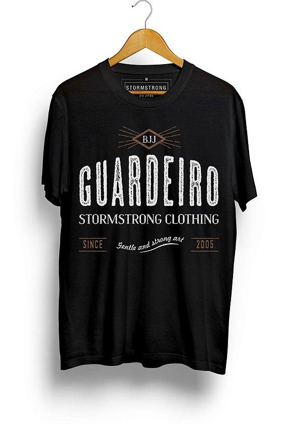 Camiseta StormStrong Jiu-Jitsu Guardeiro 2 Preta
