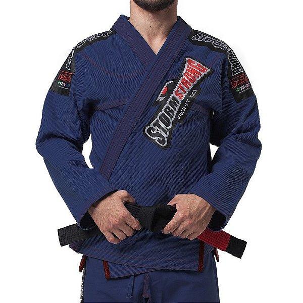 Kimono STORMSTRONG Jiu-Jitsu Pro Azul Marinho