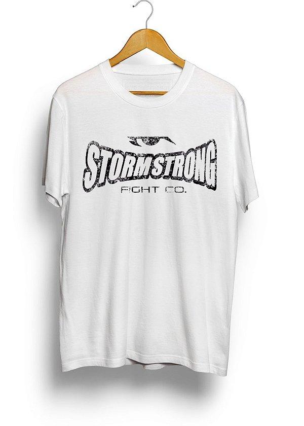 Camiseta StormStrong Jiu-Jitsu Branca