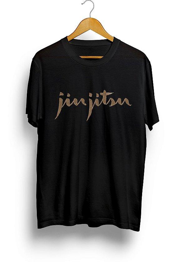 Camiseta HM Assinatura Jiu-Jitsu Preta