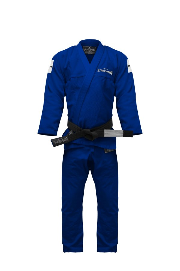 Kimono STORMSTRONG Jiu-Jitsu Respect Azul Royal
