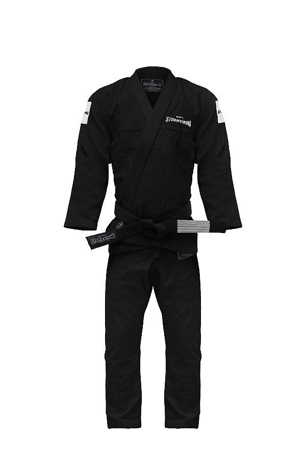 Kimono STORMSTRONG Jiu-Jitsu Respect Preto