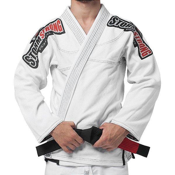 Kimono STORMSTRONG Jiu-Jitsu Série Limitada Branco
