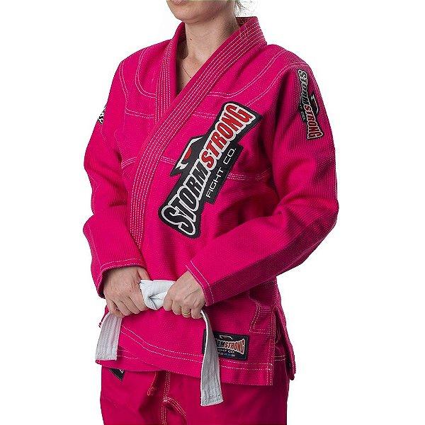 Kimono STORMSTRONG Jiu-Jitsu Série Limitada Pink