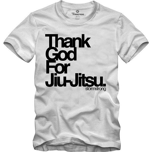 Camiseta Thank God Branca