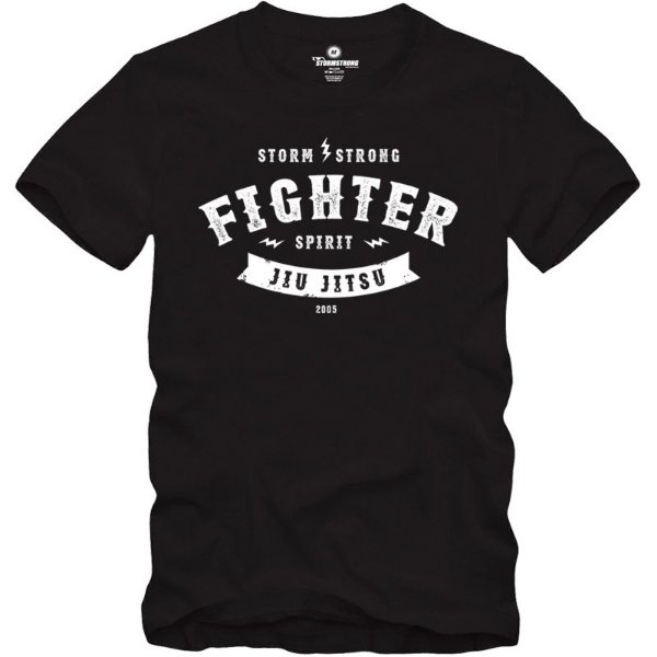 Camiseta Fighter Spirit Preta