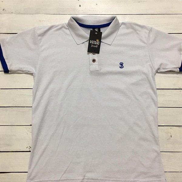 e9e2e5da51 Camiseta Polo Branca Promoção - Vestuário e Moda Jeans