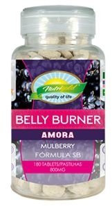 Formula Seca Barriga BELLY BURNER de Amora com 180 cápsulas