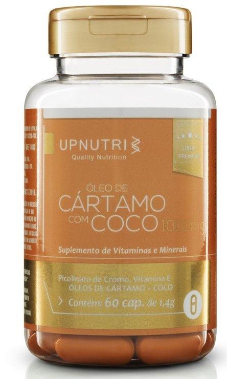 Oleo de Cartamo + Coco + Picolinato de Cromo + Vit.E (60 caps)