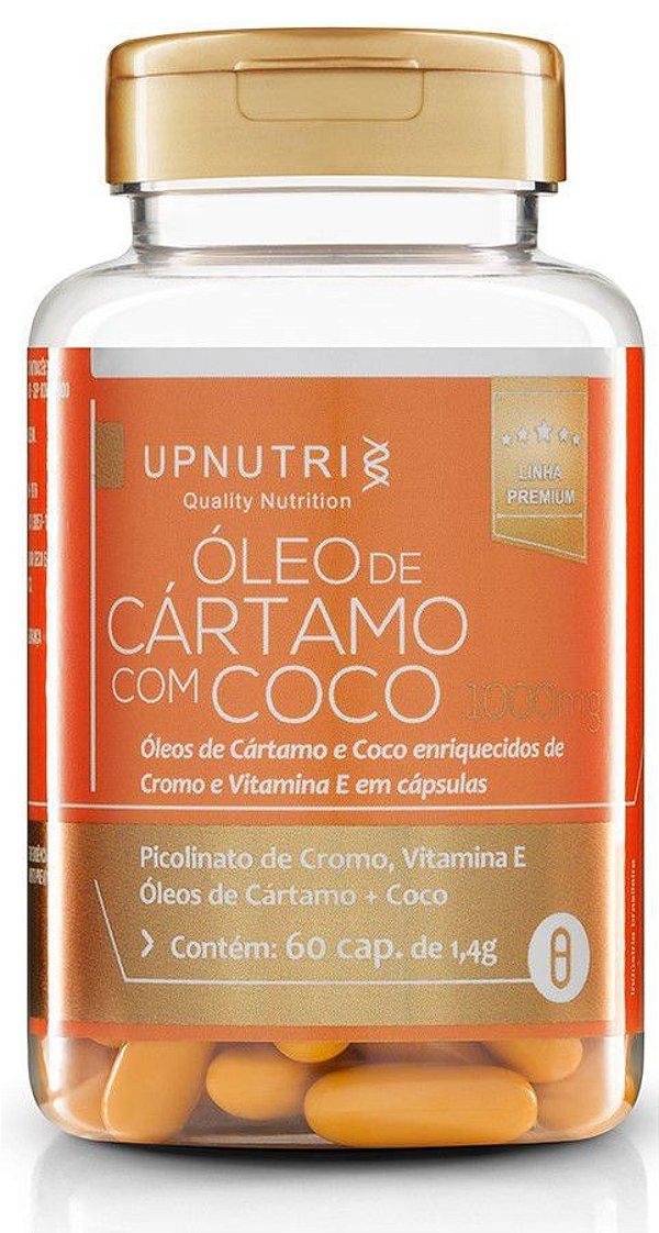 Oleo de Cartamo + Coco + Picolinato de Cromo + Vit.E (120 caps)
