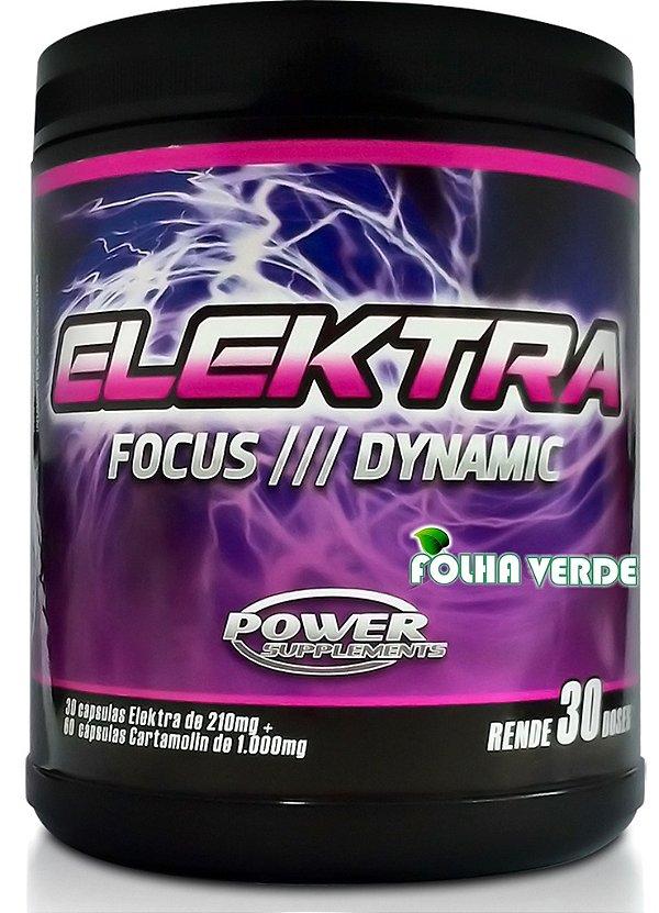 Suplemento Pré Treino Elektra Feminino 30 doses - Power Supplements