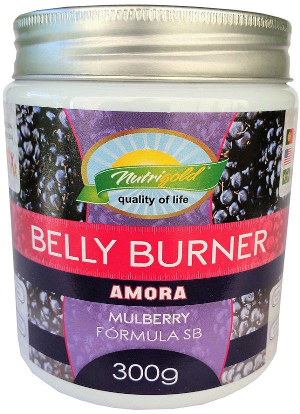 Farinha Belly Burner Seca Barriga 300g – Sabor Amora – NutriGold