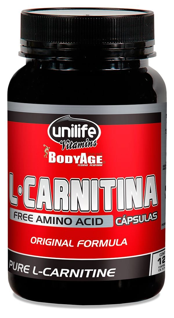 L-Carnitina Pura (120 caps) 570mg - Unilife