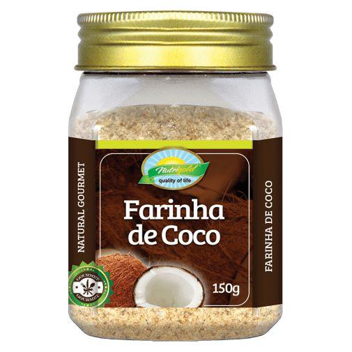 Farinha de Coco 150g Pote EMBALAGEM PREMIUM