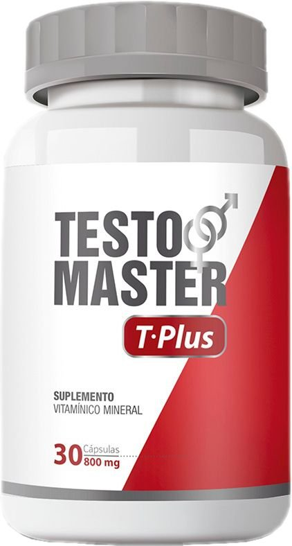 Testomaster | T-Plus - 30 CÁPSULAS - 800MG