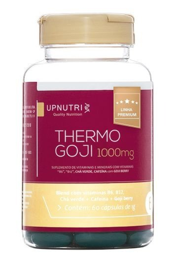 Thermo Goji Termogênico (Chá Verde+Cafeina+Goji Berry)