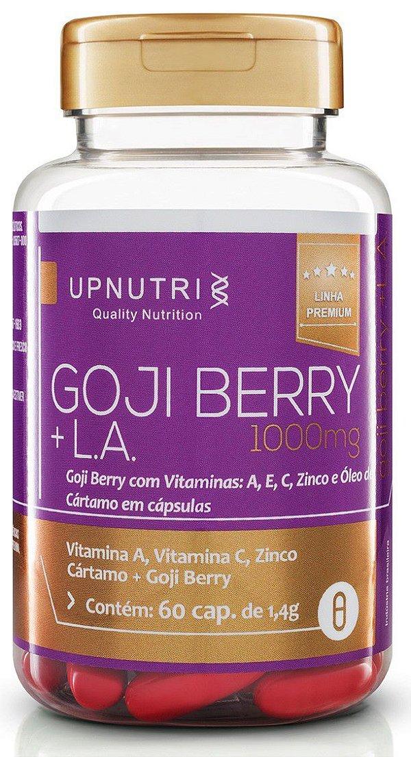 GOJI BERRY + LA (Oleo de Cartamo com Goji Berry) 60 cap