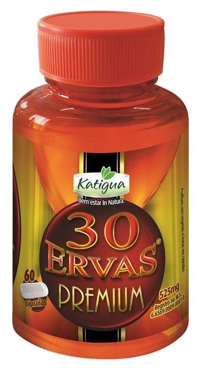 30 Ervas Premium em (60) Capsulas - katigua