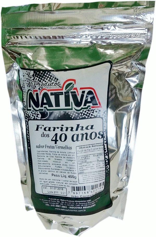 Farinha dos 40 Anos Nativa (400g)