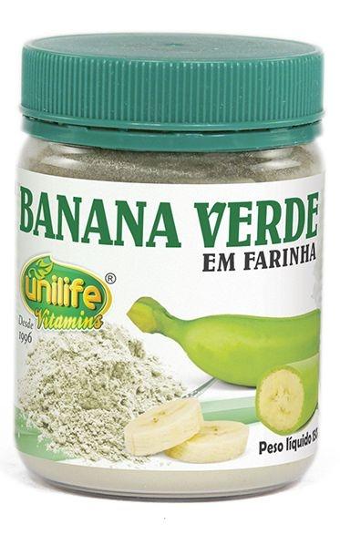Farinha de Banana Verde 130g - Unilife