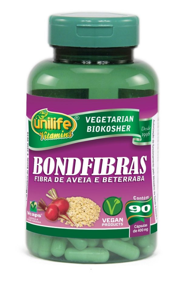 Bondfibras 90 Capsulas (400mg) - Unilife