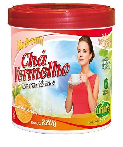 Cha Vermelho Instantaneo Biodream (220g) - Unilife