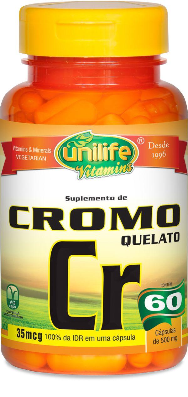 Cromo Quelato Cr (60) Cápsulas - Unilife