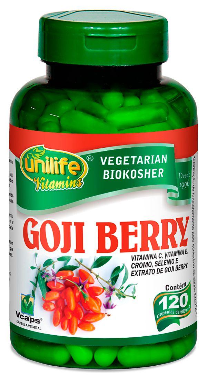 Goji Berry Unilife 120 Capsulas (500mg)