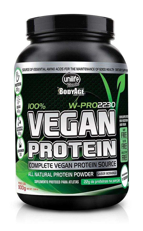 Vegan Protein W-Pro sabor Chocolate (900g) - Unilife
