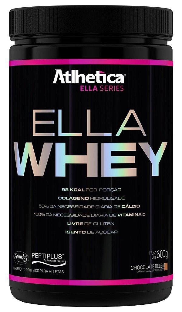 Ella Whey (600g) Sabor Chocolate  - Atlhetica Ella Series