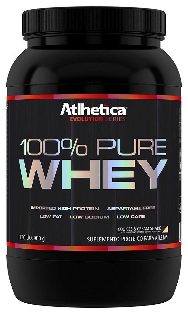 100% Pure Whey Protein 900g Cookies & Cream - Atlhetica
