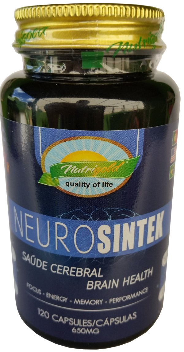 NeuroSintek Saúde Cerebral 120 Caps (700mg) - Nutrigold
