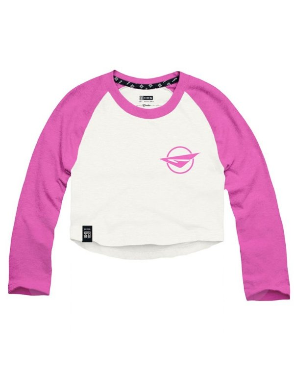 Cropped Raglan Girls Generation SNSD Pink