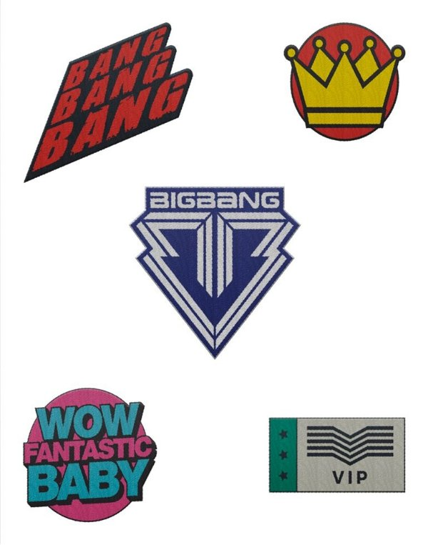 Kit de Patches BIGBANG